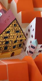 Maquette tactile de Riquewhir