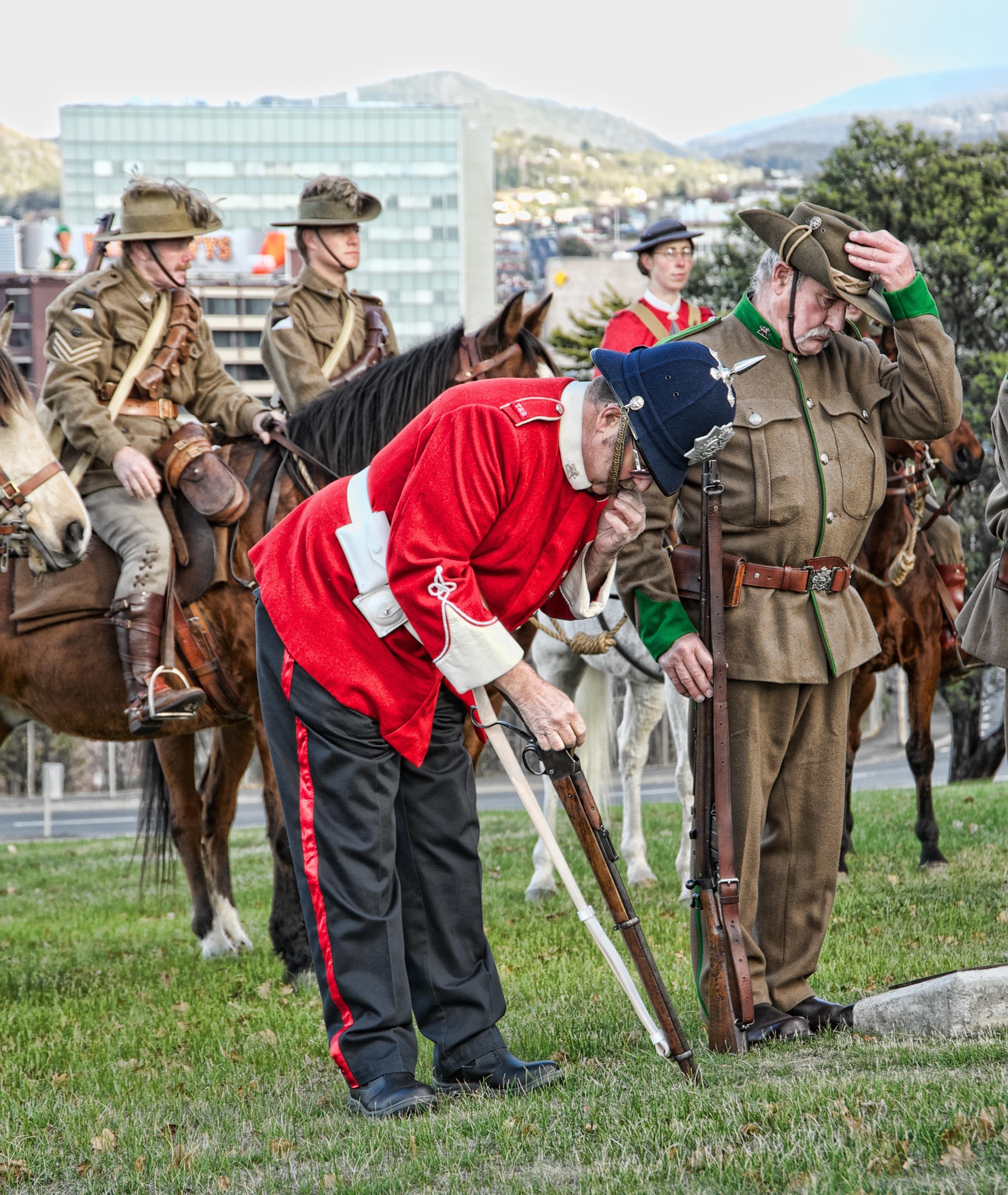 Boer War re-enactment