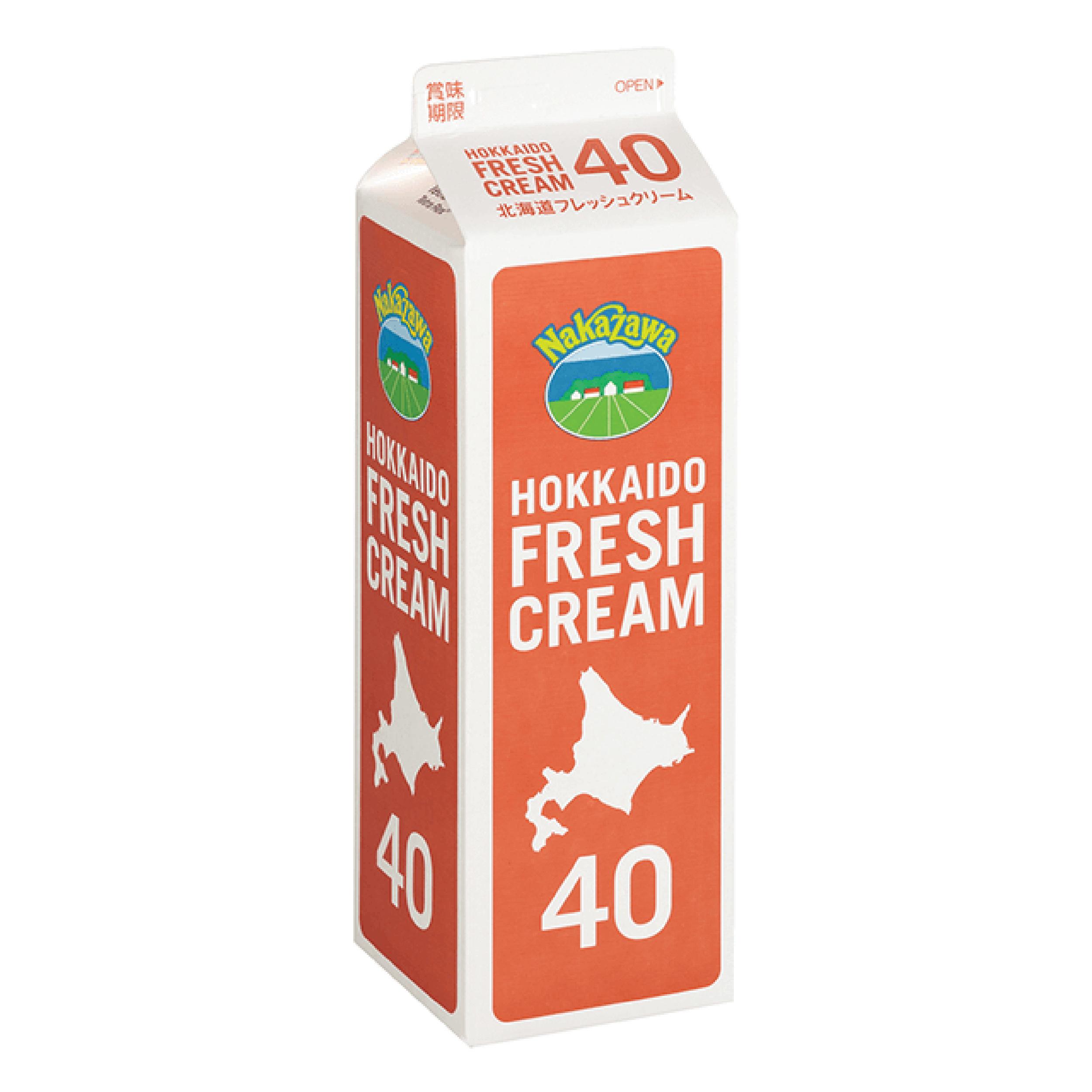 Hokkaido Fresh Cream 40%
