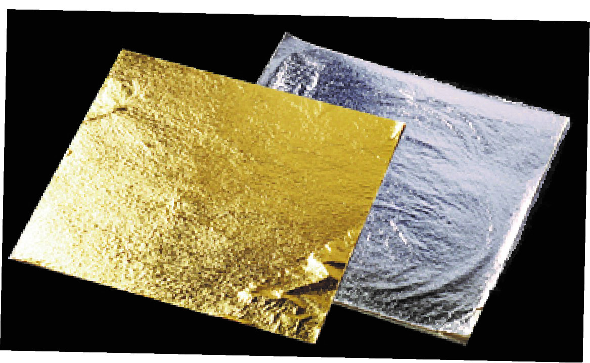 Gold leaf 100 sheets