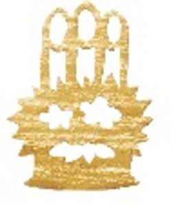 Hakuichi gold kado-matsu