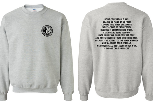 A Warriors Message Sweatshirt