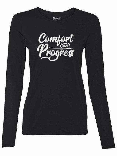 Comfort Can't Progress Women's Long Sleeve T-shirt