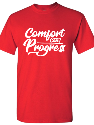 Red Comfort Progress T-shirt