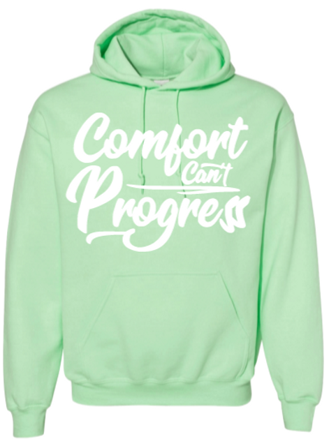 Kiwi Comfort Can't Progress Hoodie