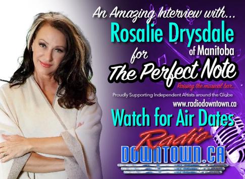 Rosalie Drysdale on Radio Downtown.ca