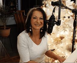Rosalie Drysdale at Christmas