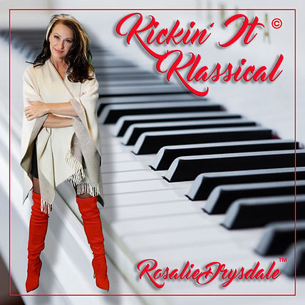 "Rosalie Drysdale Album Cover ""Kickin' It Klassical"""