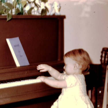 Rosalie Drysdale PLaying Piano
