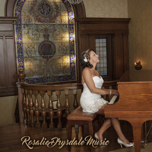 Rosalie drysdale at Piano