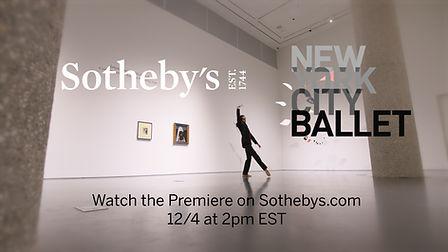 Sotheby's New York City Ballet Dancers Auction Dance Art Gallery