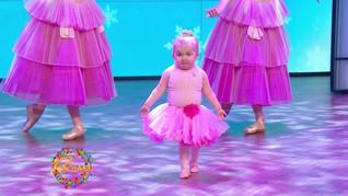 AUDREY DANCES IN THE NUTCRACKER