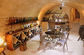 Boutique B & B dinner in the cellar