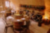 passage secret de la chambre d'hôtes, sous le rempart de Cordes