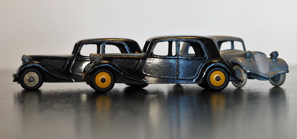 TRACTION CITROËN  DINKY TOYS
