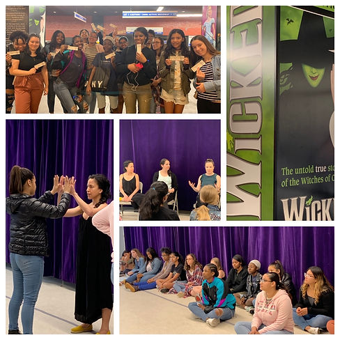 Broadway Empowerment Day at Wicked 2019.