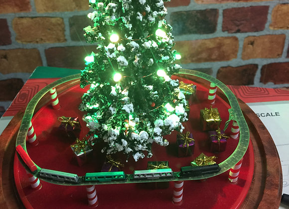 Single Deluxe Christmas Set with 27 LED Lights