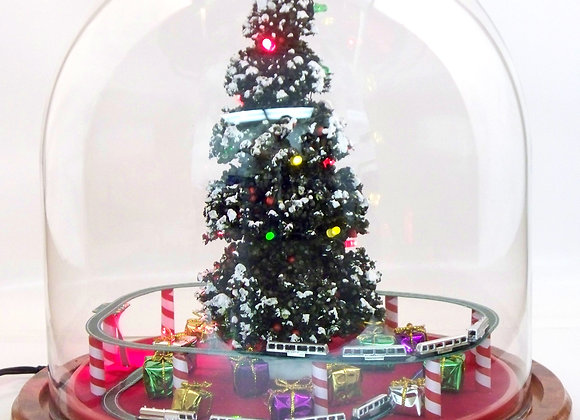 Dual Deluxe Christmas Set with 27 LED Lights