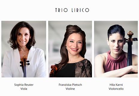 Trio Lirico Franziska Pietsch Sophia Reu