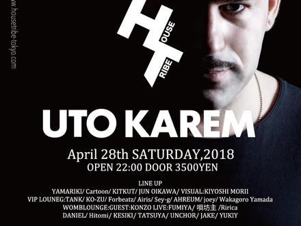 HOUSETRIBE presents UTO KAREM