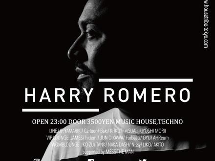 HOUSETRIBE presents Harry Romero