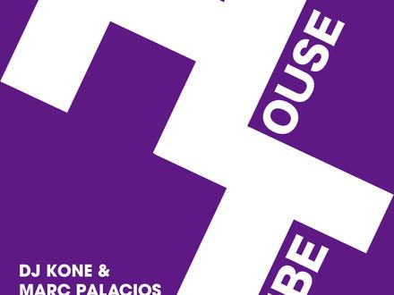 DJ KONE & MARC PALACIOS / On My Body EP Release!!