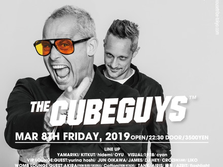 HOUSETRIBE presents THE CUBEGUYS