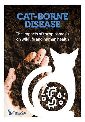 Toxoplasmosis and wildlife front cover.j