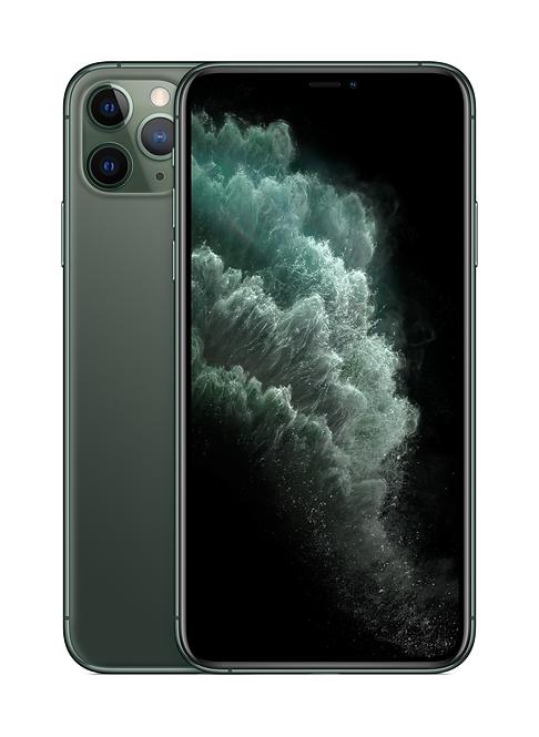 iPhone 11 Pro Max 64 ГБ темно-зеленый