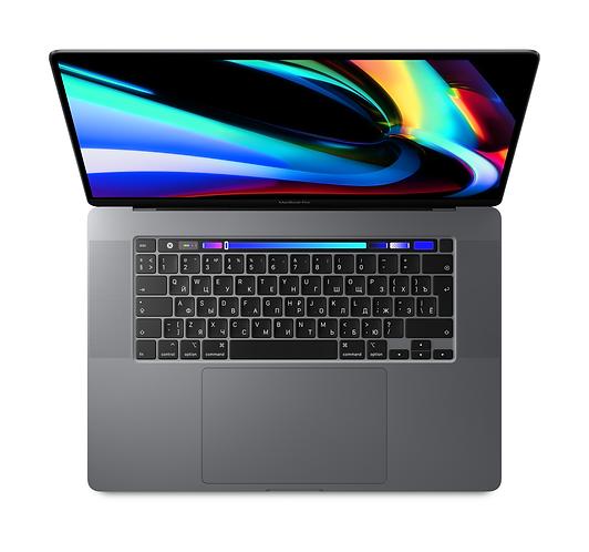 "MacBook Pro 16"" Core i9 2,3 ГГц, 16 ГБ, 1 Тб SSD, Touch Bar «серый космос»"