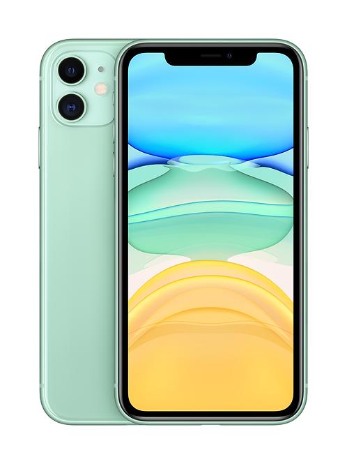 iPhone 11 128 ГБ зеленый