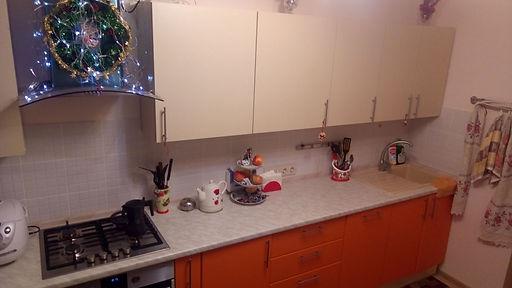 Кухня с фасадами мдф покрытыми пластиком пвх