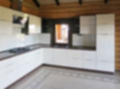 Кухня с фасадами мдф эмаль