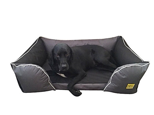 The Lounger Deluxe Memory Foam Dog Bed Various Sizes - Colours