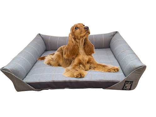 XL Memory Foam Sofa Dog Bed + Reversible Slab XL Size 139cm