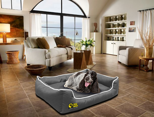 Waterproof Memory Foam Dog Settee