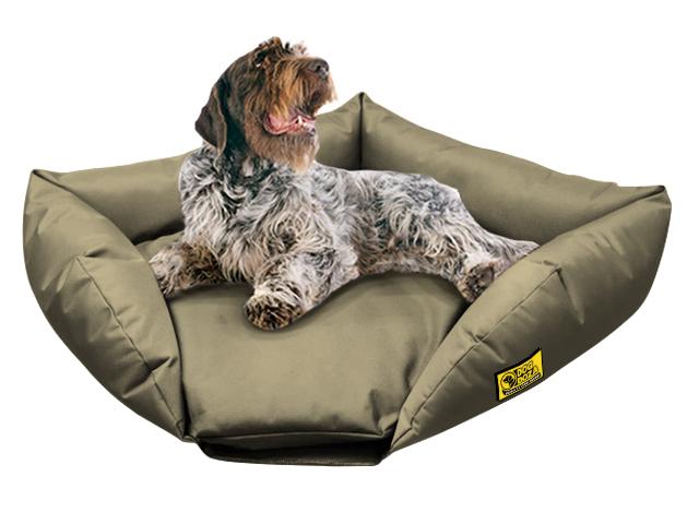 dog doza sofa corner bed beige 2