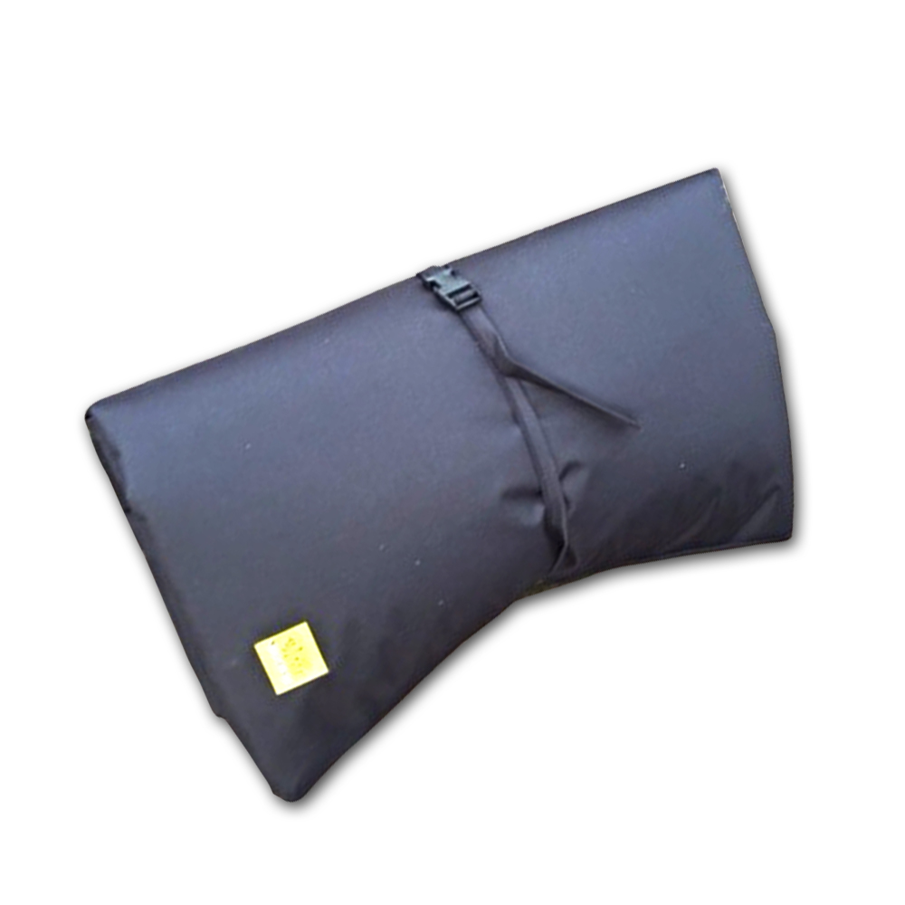 dog doza black travel mat