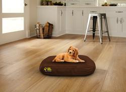 Waterproof Oval Bed Brown