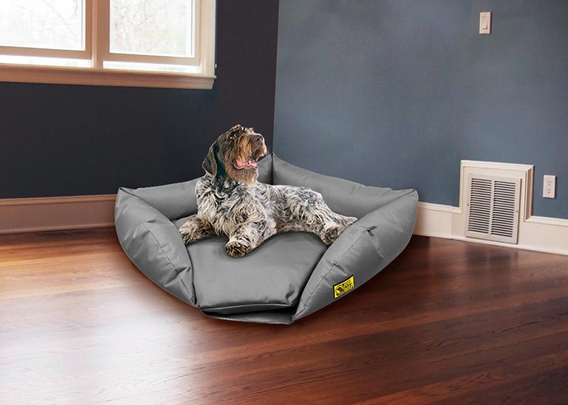 Grey Waterproof Corner Sofa