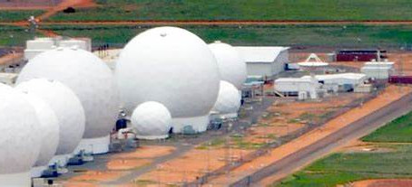 """shocking revelations """"the objects passed through the base walls at pine gap in australia"""""""