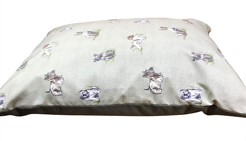 Country Dogs Cushion 90cm x 60cm