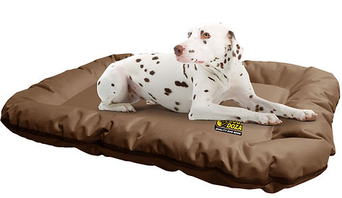 Dog Doza waterproof dog bed bolster head support Made in UK
