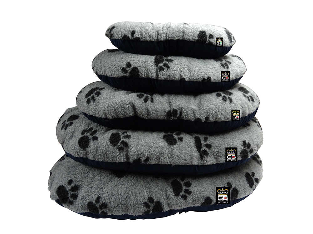GB Pet Beds - Cotswold grey fleece