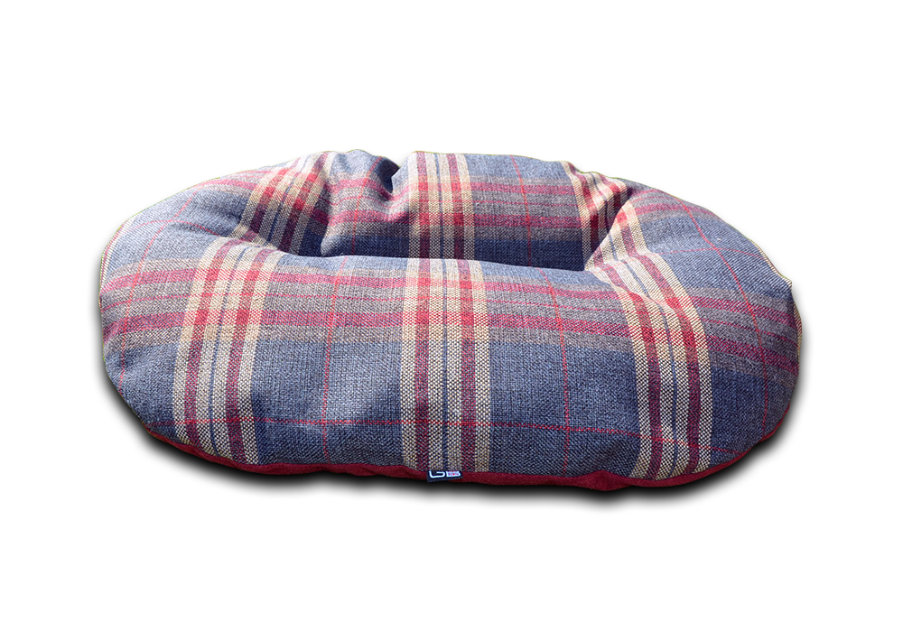 oval dog beds for baskets granite check uk