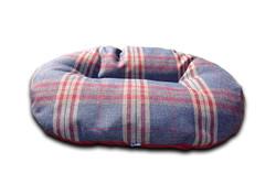 oval dog beds for baskets granite check uk