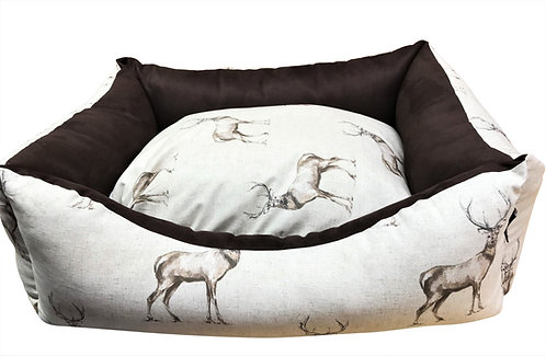 Country Stag Settee 84cm x 69cm