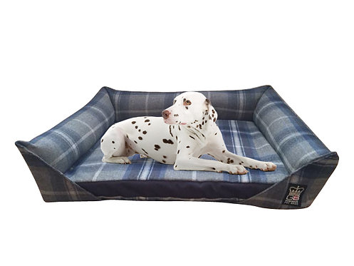 Memory Foam Sofa Dog Bed + Reversible Slab Various Sizes