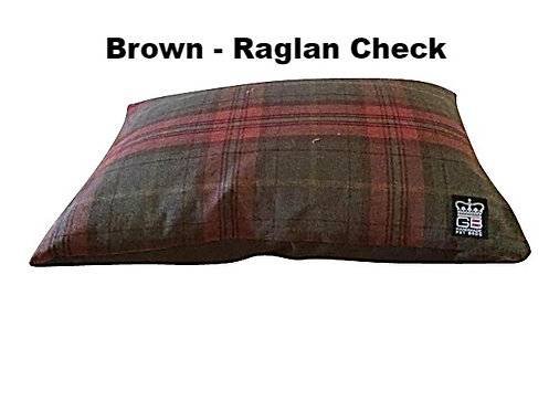 Quality Fabric Cushion Beds Waterproof Base - Various Colours - Sizes