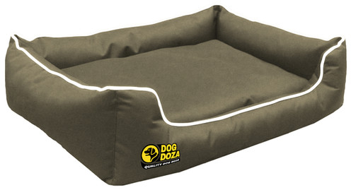 Dog Dreamer Settee Stylish Deluxe Bed Waterproof With A Orthopaedic Memory Foam Slab Draft Excluding Walls